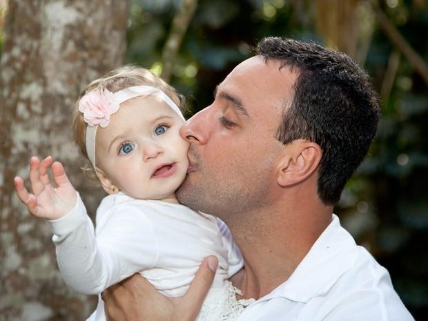 Fotos mostram o afeto e a cumplicidade dos pais e filhos (Foto: Alexandre Moreira)