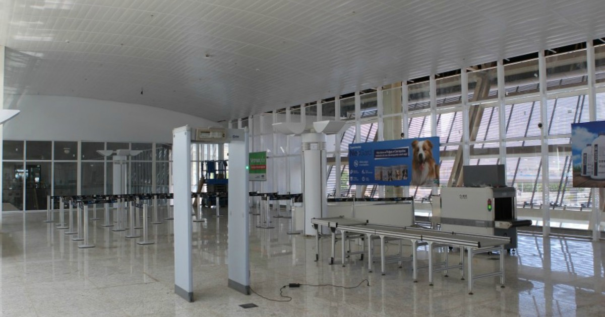 Infraero concluí parcialmente obra em setor do aeroporto Marechal Rondon | Globo G1