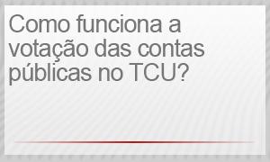 votação no TCU (Foto: REPRODUÇÃO/G1)
