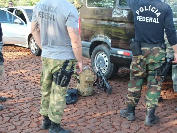 Segundo a PF, líderes da quadrilha eram das mesma família (Foto: Polícia Federal/Divulgação)