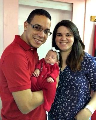 Depois de 109 dias na UTI, família registrou momento da saída do hospital (Foto: Arquivo da Família)