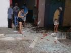 Homens armados explodem caixa de banco em Ruy Barbosa, no RN