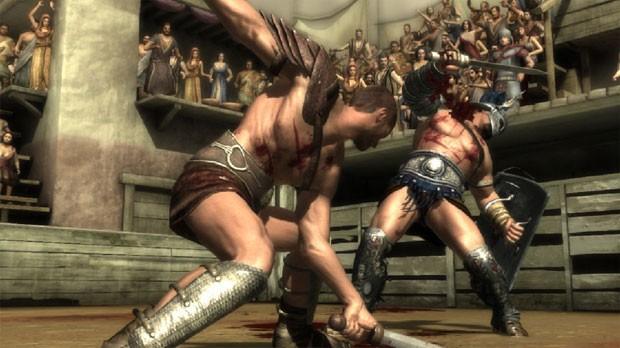Spartacus Legends' trará a violência das lutas entre gladiadores