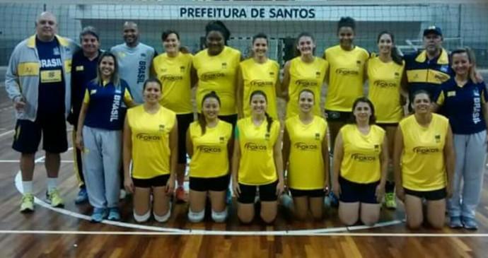 seleção brasileira de vôlei para surdas Natália Martins (Foto: Arquivo Pessoal)