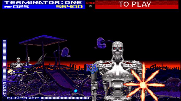 Com uma divertida dinâmica sobre trilhos, Terminator 2: Judgment Day é um ótimo game de fliperama (Foto: Divulgação)