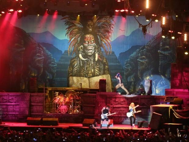Iron Maiden se apresenta pela primeira vez no Ceará, em show na Arena Castelão (Foto: Arte Produções/Divulgação)