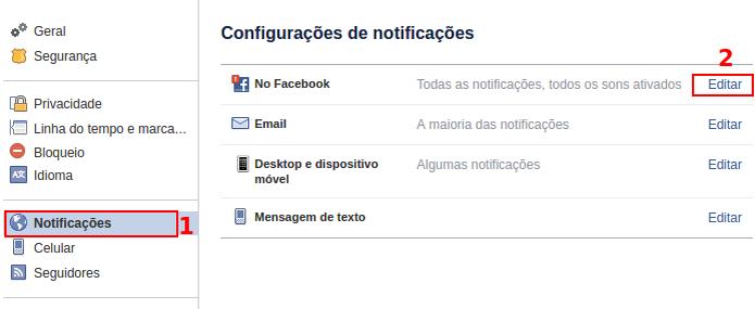Acessando as configurações das notificações de sua conta no Facebook (Foto: Reprodução/Edivaldo Brito) (Foto: Acessando as configurações das notificações de sua conta no Facebook (Foto: Reprodução/Edivaldo Brito))