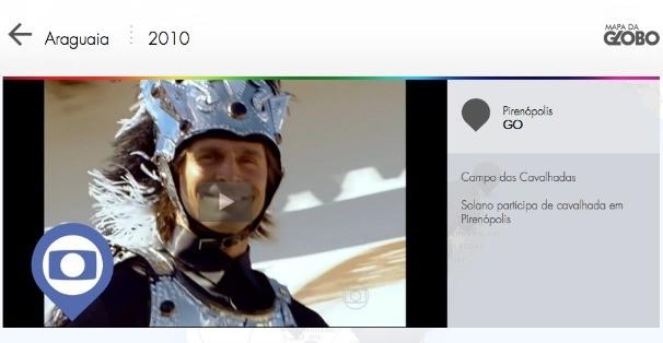 Globo lança site para você relembrar as cenas gravadas em Goiás (Foto: Rede Globo)