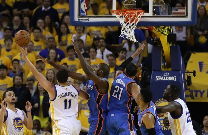 Golden State Warriors x Oklahoma City Thunder - Jogo 5 (Foto: Getty Images)