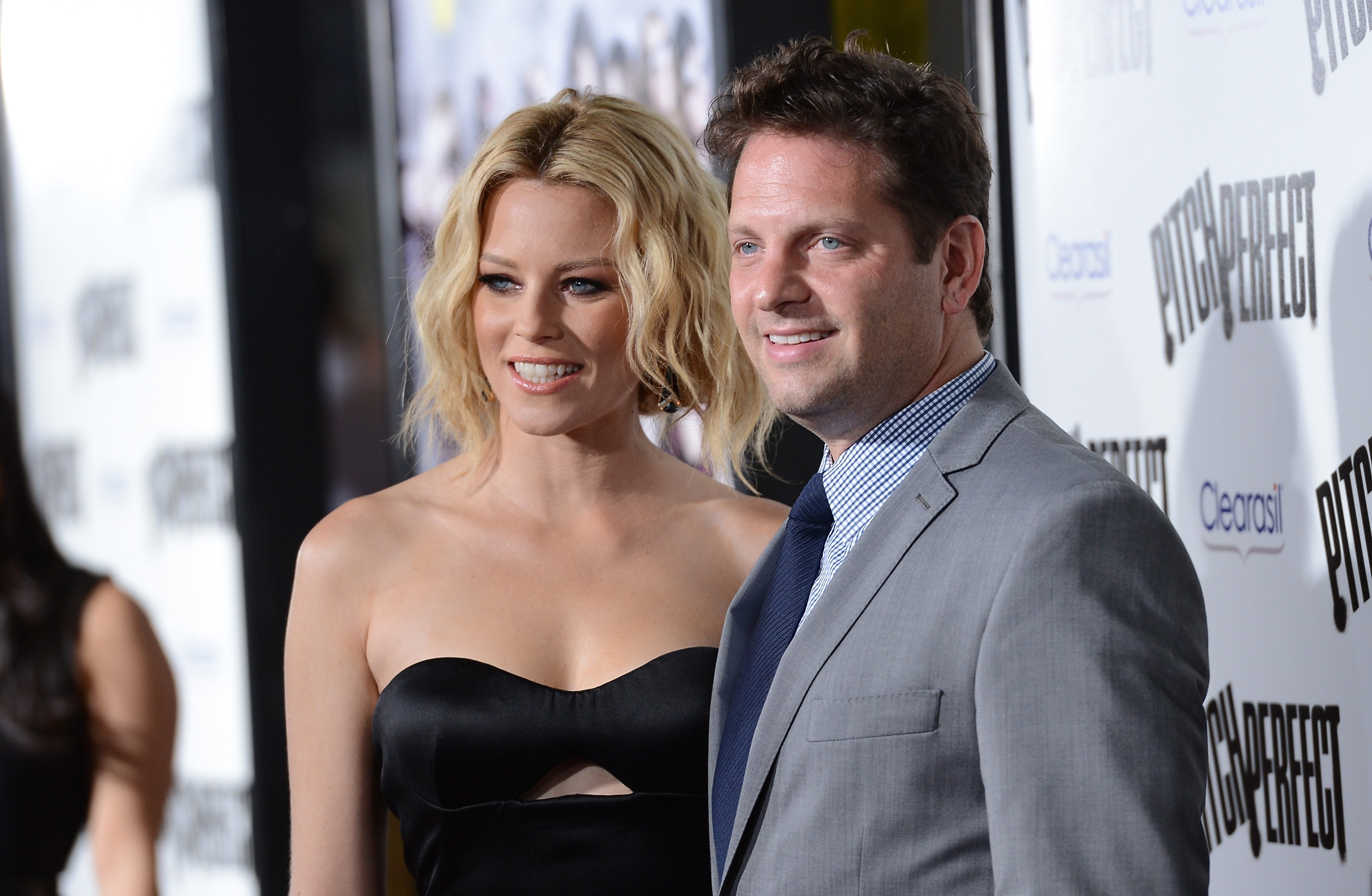 Elizabeth Banks e Max Handelman (Foto: Getty Images)