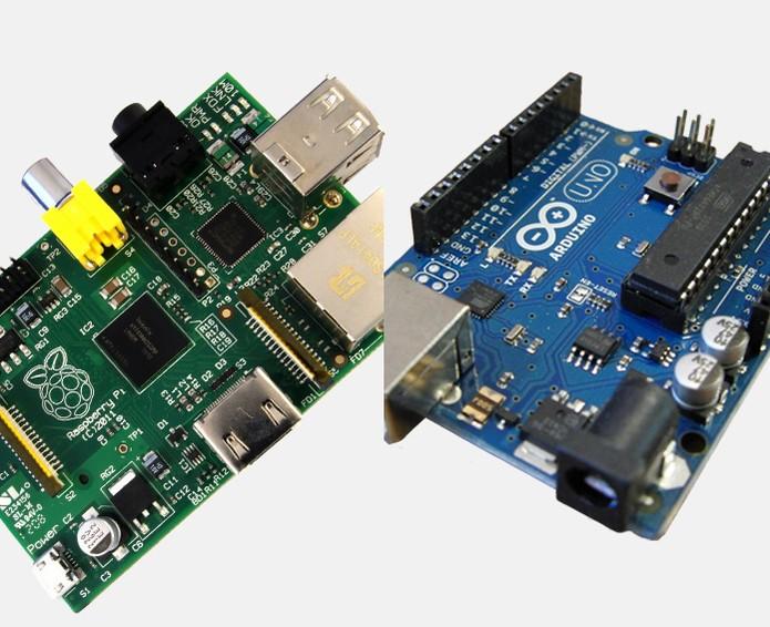 Raspberry e Arduino (Foto: Arte/TechTudo)