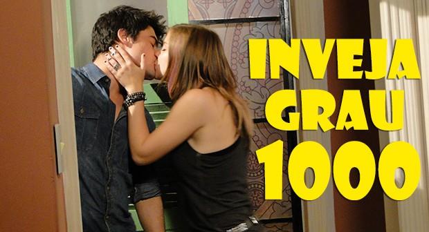Inveja grau 1000 pra LiTor!! (Foto: Malhação / TV Globo)