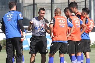 Doriva, treino Vasco (Foto: Marcelo Sadio/vasco.com.br)