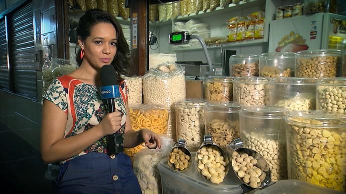 Biscoito de polvilho é tradição em Vitória da Conquista (Foto: TV Bahia)