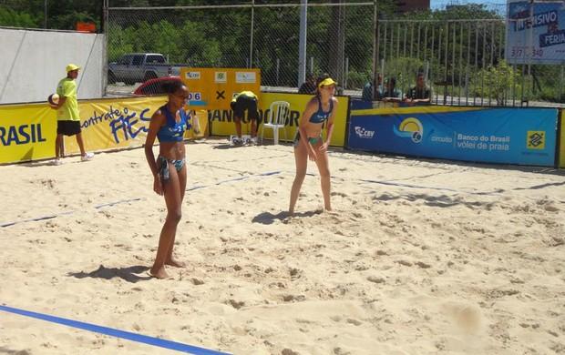Equipe feminina também vai disputar o circuito (Foto: Divulgação/Seleção Tocantinense de Vôlei de Praia)