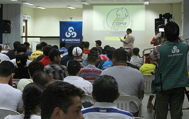 Congresso técnico da Copa TV Amazonas de Futsal definiu 1ª chave (Foto: Frank Cunha/GE AM)