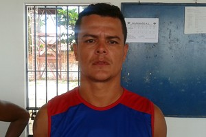 Neto Alagoano - atacante MAC (Foto: Bruno Alves)