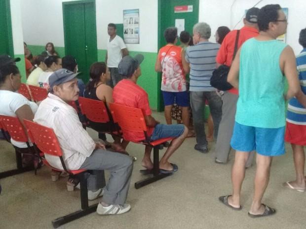 vacinação, h1n1, ubs, macapá, amapá, brasil (Foto: Carlos Alberto Jr/G1)