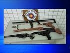 Polícia apreende armas de fogo fabricadas de forma caseira em Tatuí