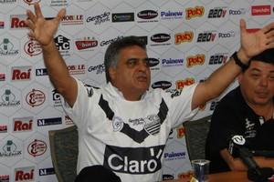 Vagner Benazi, técnico do Comercial (Foto: Divulgação/Comercial FC)