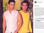Zezé Di Camargo faz declaração para o irmão Luciano: 'Amor'
