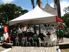 Sindicalistas promovem ato contra a terceirização de serviços em Alagoas