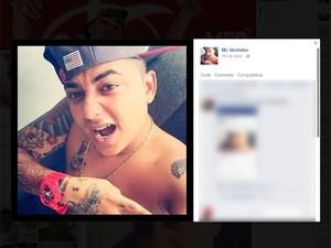 MC Vertinho (Foto: Reprodução / Facebook)