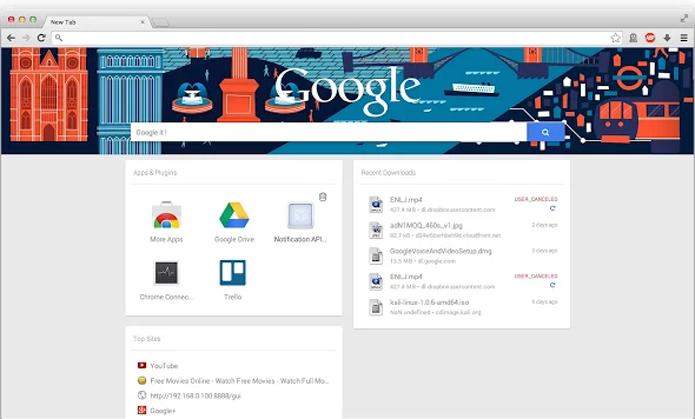 Extensão reproduz aparência do Google Now (foto: Reprodução/