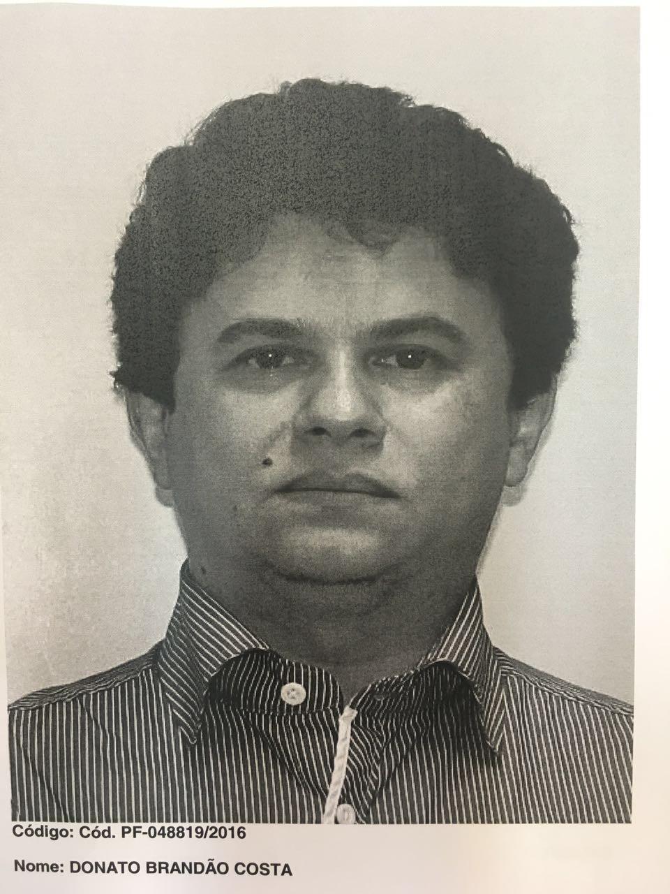 Donato Brandão Costa foi preso nesta terça-feira em Petrópolis (Foto: Divulgação/Polícia Civil)