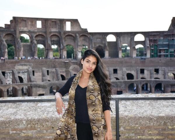 Munik Nunes visita o Coliseu, na Itála (Foto: Reprodução / Instagram)