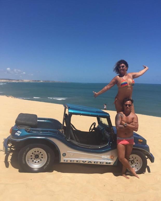 Solange Couto e Jamerson  (Foto: Instagram / Reprodução)