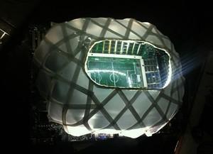 Réplica Arena da Amazônia (Foto: Reprodução/Facebook)