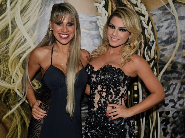 Ex-BBB Vanessa e Babi Rossi em evento em São Paulo (Foto: Caio Duran/ Ag. News)