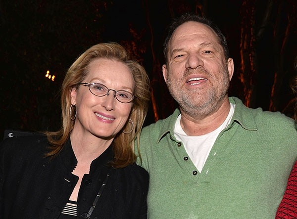 Meryl Streep e Harvey Weinstein (Foto: Getty Images)