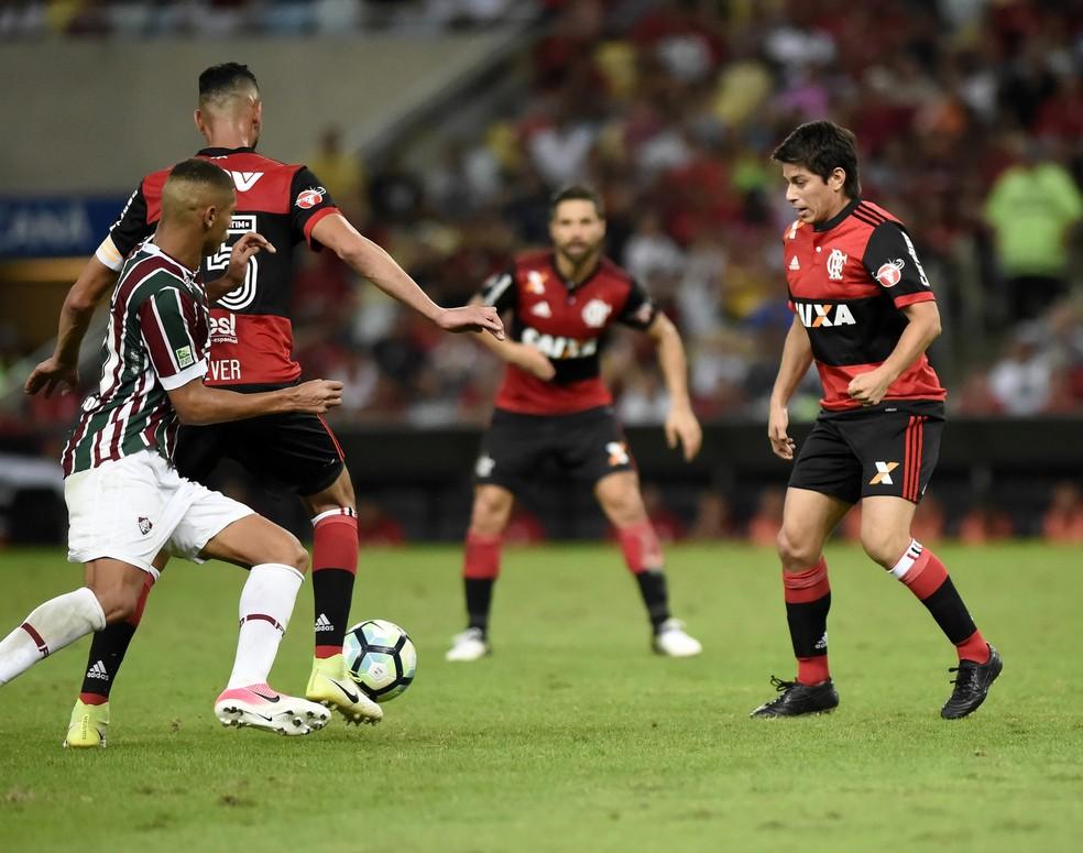 Conca Fluminense x Flamengo Fla-Flu Maracanã - Campeonato Brasileiro 2017 8ª Rodada (Foto: André Durão)