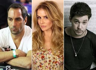 Bruno Torres, Deborah Secco e Edmundo (Foto: Reprodução/ Site Oficial  - Divulgação / Rodrigo Chiba - Mauro Zaniboni/Divulgação)