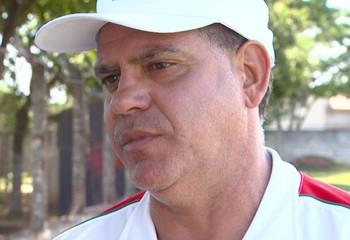 Waguinho Dias, técnico do Velo Clube (Foto: Elen Schmdit/EPTV)