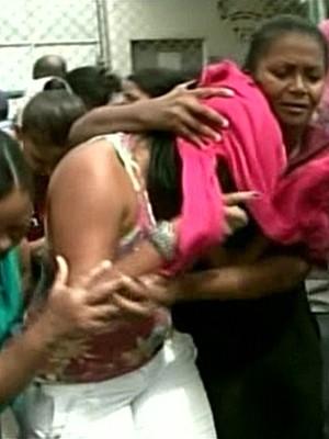 Rebelião em presídio é encerrada com oito mortes e mais de 70 reféns (Foto: Reprodução/GloboNews)