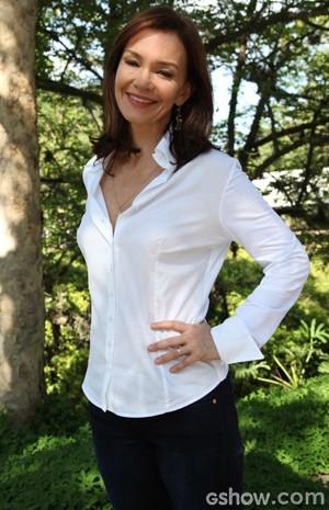 Julia é só elogios à colega Bruna Marquezine (Foto: Carol Caminha/TV Globo)
