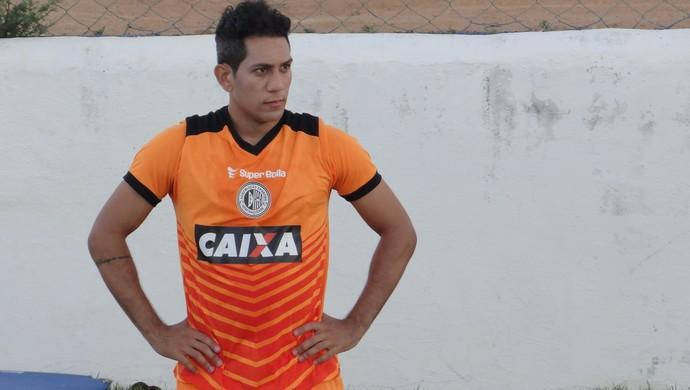 Anderson Lessa, atacante do ASA (Foto: Leonardo Freire/GloboEsporte.com)