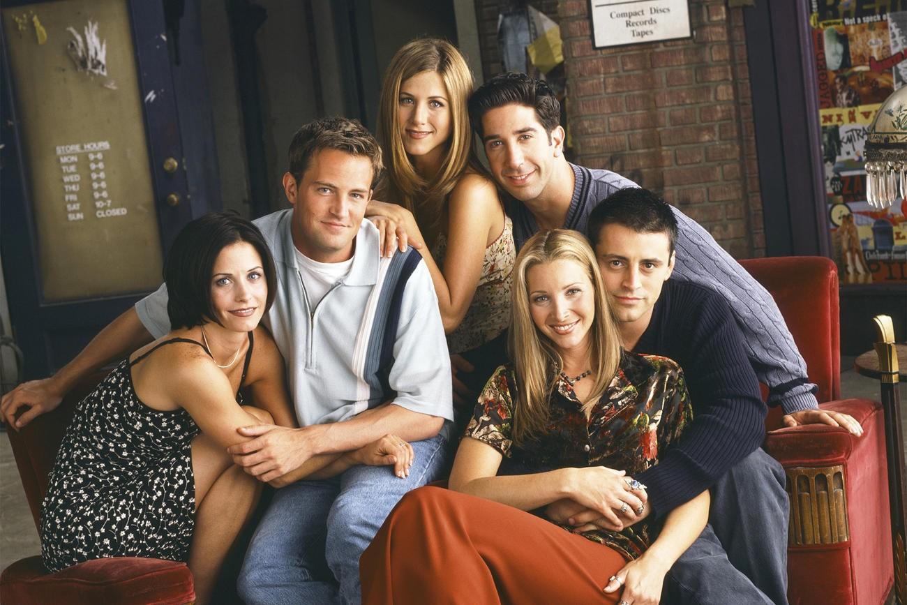 Monica, Chandler, Rachel, Ross, Phoebe e Joey (Foto: Divulgação)