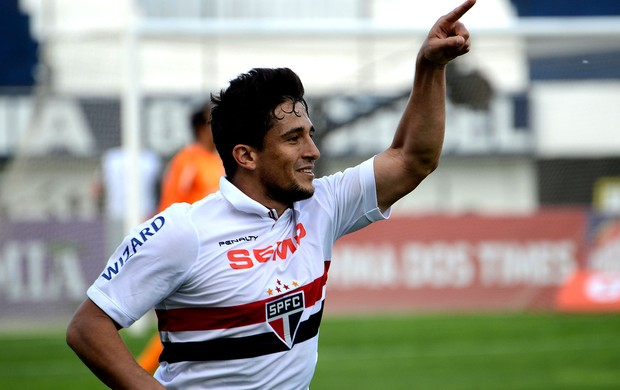 Aloisio são paulo gol internacional série A (Foto: Luiz Munhoz / Agência Estado)
