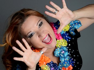 Cantora Nena Queiroga é a estrela do Baile da Nena (Foto: Divulgação)