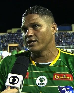 Atacante Da Silva, Estanciano (Foto: Reprodução/TV Sergipe)