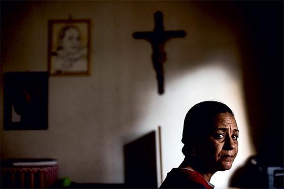 Ilma Chaves Silva Borges, viúva do jornalista Evany José Metzker (Foto: Leo Drumond/Nitro/Época)