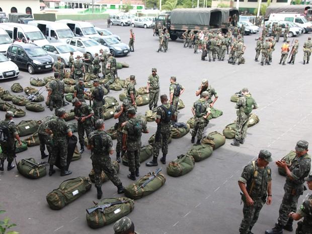 Tropas do Exército ajudarão na segurança das eleições em São Luís (Foto: Biné Morais/O Estado)
