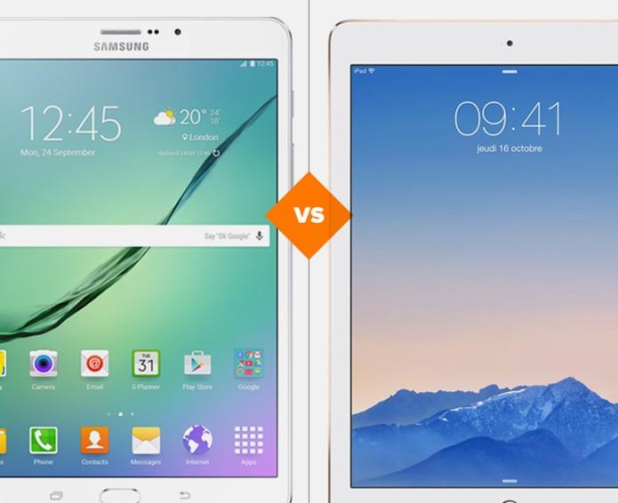 Galaxy Tab S2 ou iPad Air 2: descubra quem vence essa briga (Foto: Arte/TechTudo)