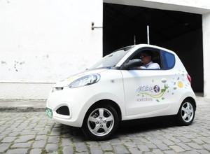 Recife testa o primeiro sistema de compartilhamento de carros elétricos do Brasil (Foto: Divulgação)