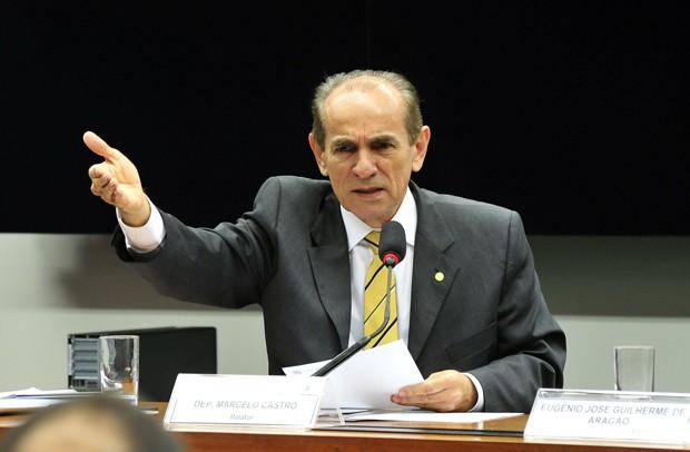 O deputado Marcelo Castro (PMDB-PI), escolhido por Dilma para chefiar o Ministério da Saúde (Foto: Luis Macedo/Câmara dos Deputados)
