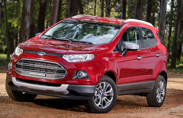 Ford EcoSport antes das mudanças (Foto: Divulgação)